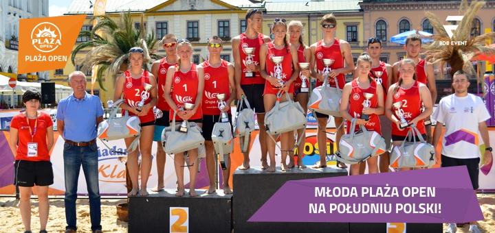 Młoda Plaża Open 2014 - Cieszyn