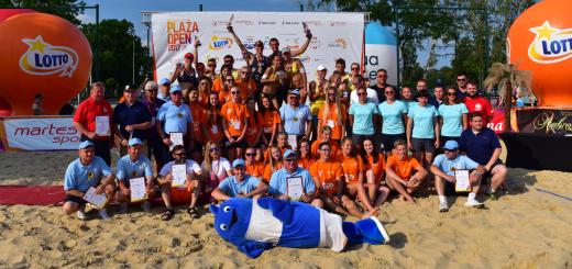 Plaża Open_Rybnik - podium