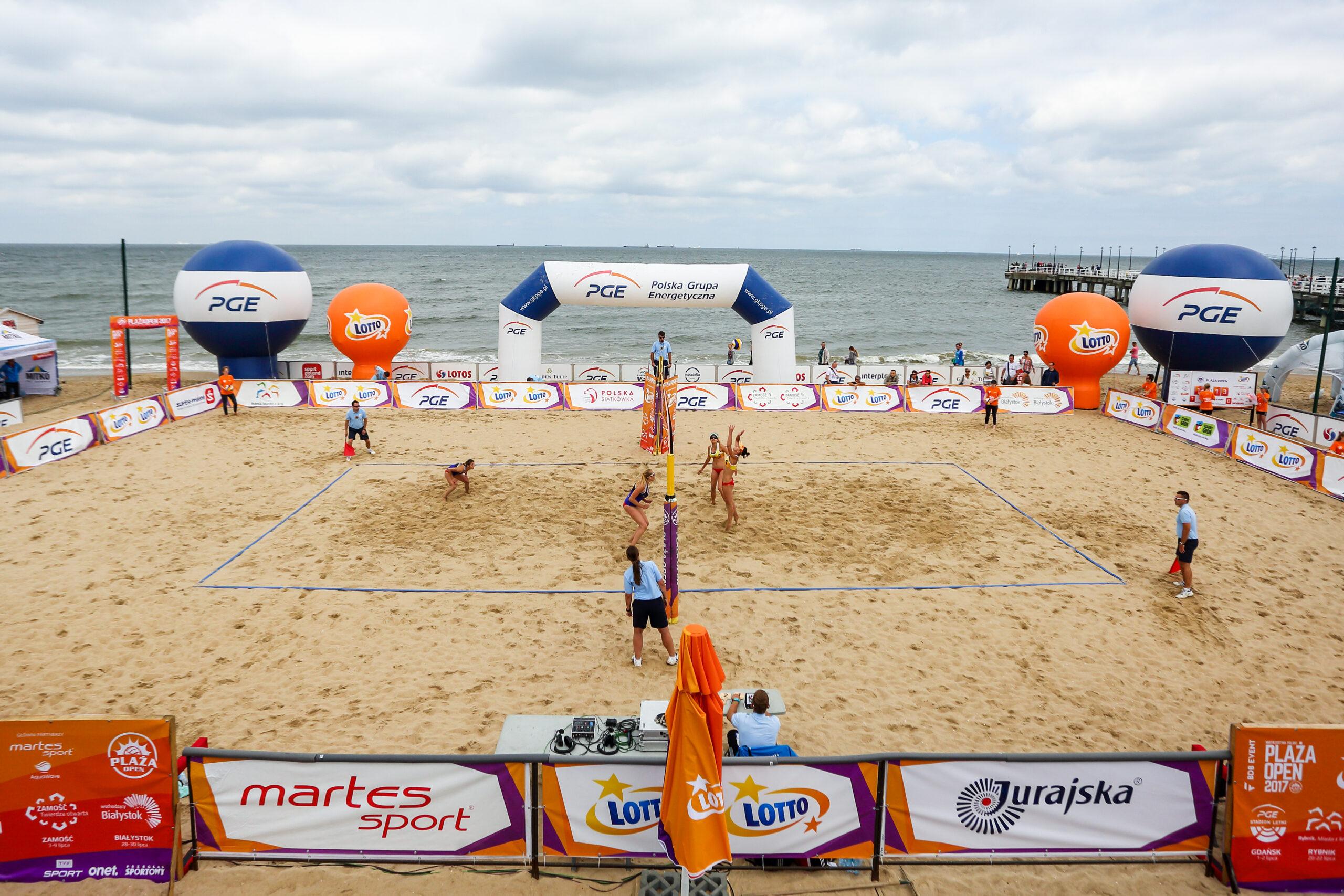 Plaża Open 2017 Gdańsk