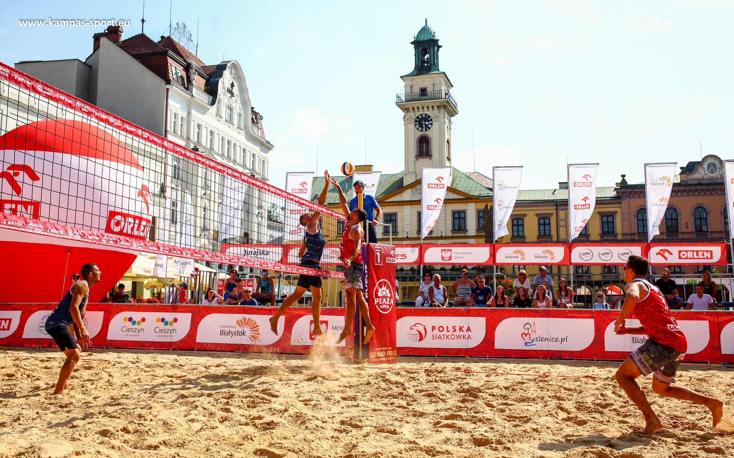 Plaża Open 2020 Cieszyn