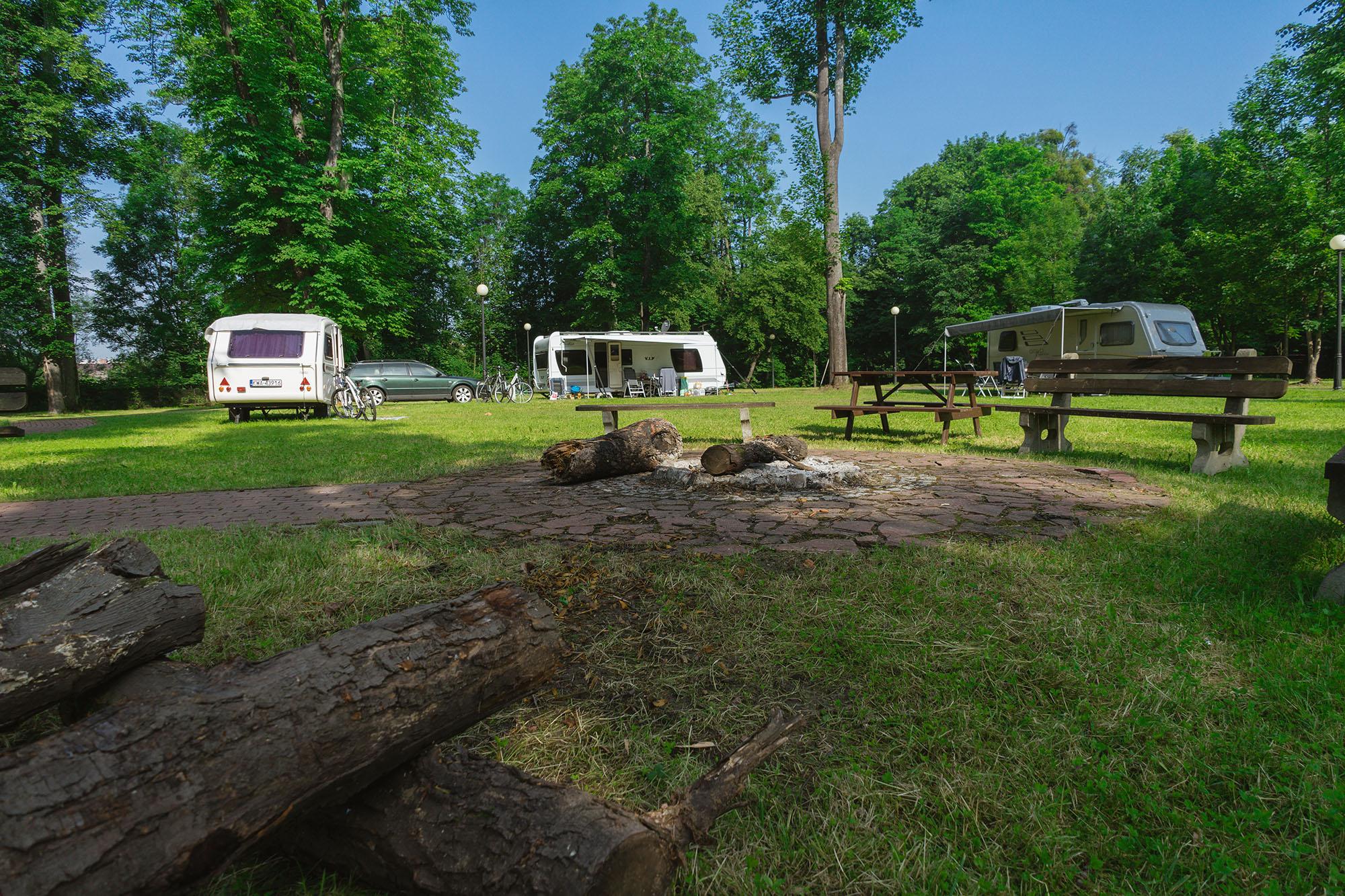 Camping pod Czarnym Bocianem - Cieszyn